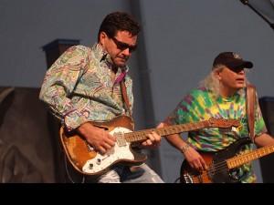 Tab Benoit at Jazz Fest 2008. Photo by Leon Morris.