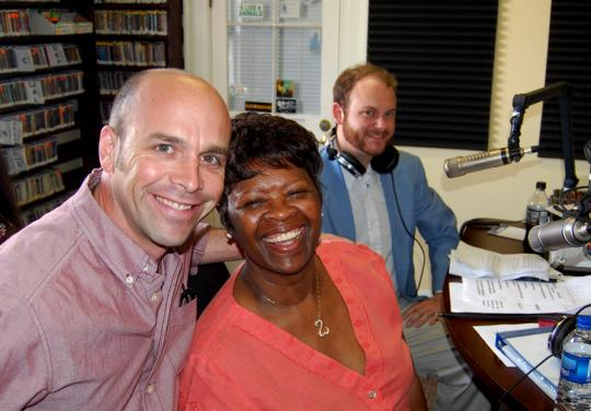 Irma Thomas and Jason Miner