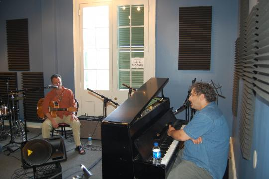 Paul Sanchez and David Torkanowsky