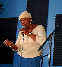 Juanita Brooks at WWOZ's Holiday Power Drive