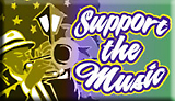 support the music graphic