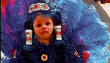 photo of Mardi Gras Indian princess