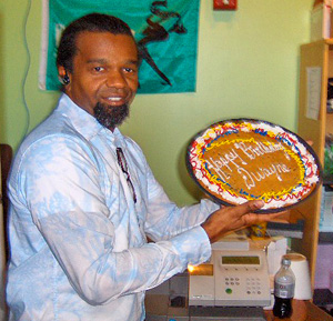 Photo of WWOZ Programming Director Dwayne Breashears