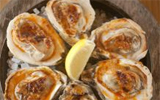 Grilled Oysters with Garlic-Chile Butter