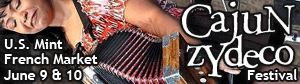 Cajun-Zydeco Festival June 9th and 10th