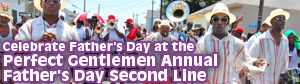 Perfect Gentlemen Second Line Parade on Father's Day