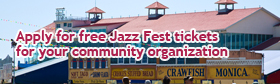 Jazz Fest Community Outreach Tickets