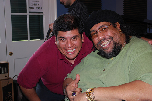 Jorge Fuentes and Big Al Carson