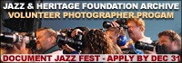 Jazz Fest Photo Volunteer graphic