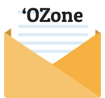 Get the 'OZone monthly newsletter