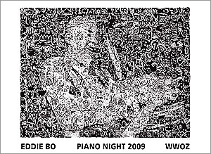 2009 Piano Night poster
