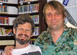 Bassist James Singleton and deejay George Ingmire
