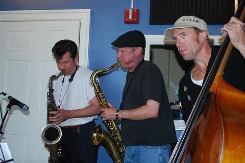 Derek Houston, Jimmy Carpenter and Sam Price