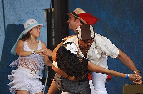Fredy Omar's dancers