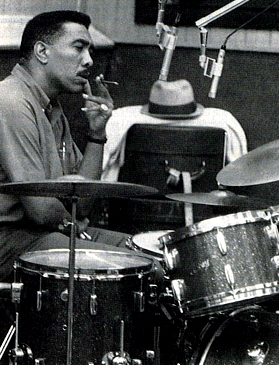 photo of drummer Earl Palmer