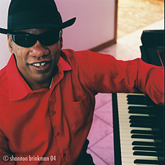 New Orleans piano legend Henry Butler — photo by Shannon Brinkman