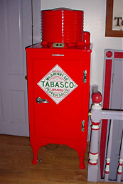 Tabasco refrigerator
