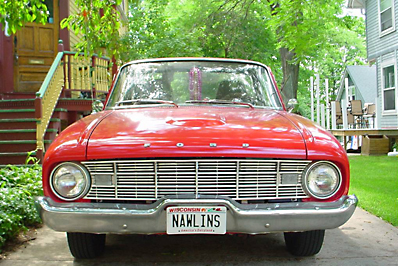 Dan & Paula Johnson's 1960 Ranchero