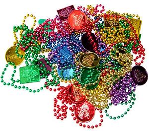 photo of Mardi Gras beads