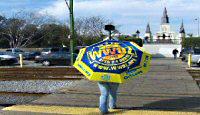 photo of WWOZ umbrella