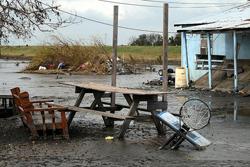 Isle de Jean Charles after Hurricane Gustav