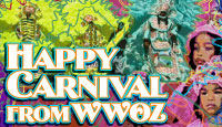 Happy Carnival from WWOZ
