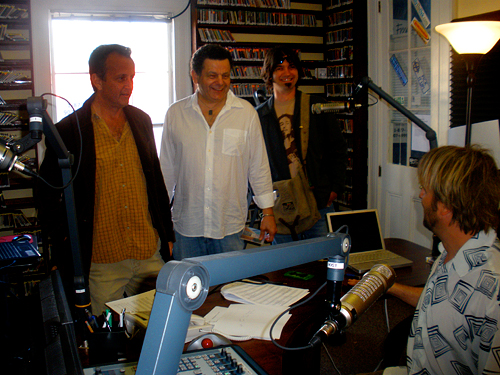 Paul Sanchez, Kimball Packard, Michael Seaman and George Ingmire