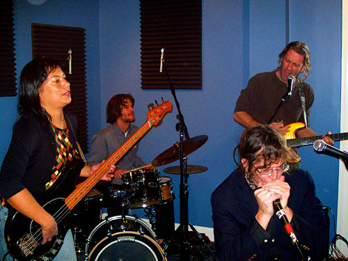 Eloise Davis, Tony Frickey, Slewfoot and El DeOrazio