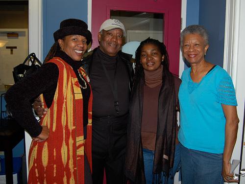 photo of Charmaine Neville, James Rivers, Karen Paige and Germaine Bazzle