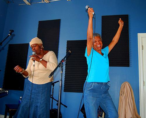 photo of Juanita Brooks and Germaine Bazzle