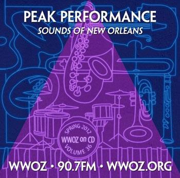 CD cover for CD #36 - Peak Performance