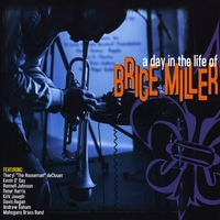 Brice Miller CD cover