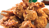 photo of fried crabs