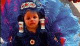 photo of Mardi Gras Indian princess