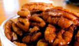 photo of candied pecans