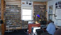 WWOZ studio