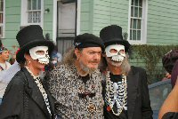Bill and Pat with Dr. John