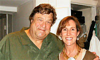 John Goodman with Mary Liz Keevers