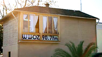 photo of old WWOZ studio in Armstrong Park