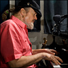 Dr. John at the piano