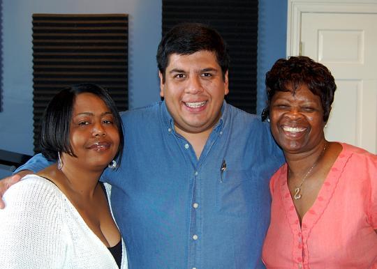 Tanya, Jorge, and Irma