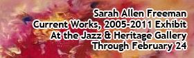 Sarah Allen Freeman Current Works