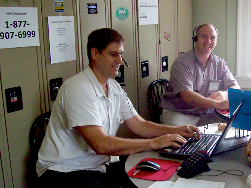 Dave and Mike standing by to take your calls to join or renew your membership.