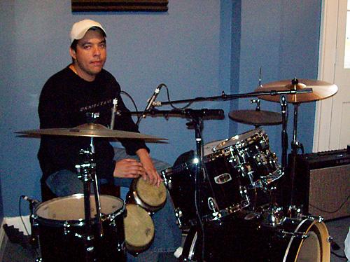 Percussionist Jorge Leyva