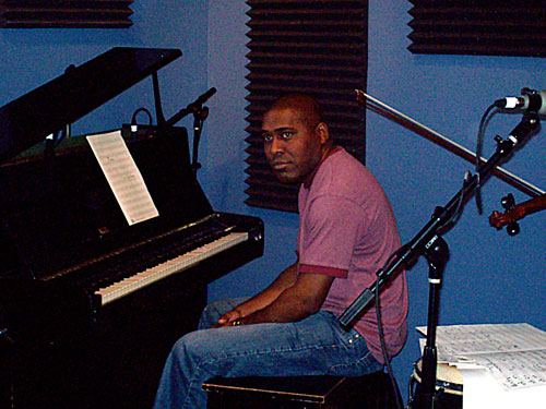 Cuban jazz pianist Osmany Paredes