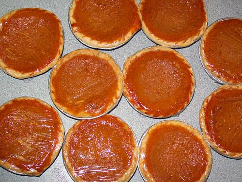 really tasty sweet potato pies