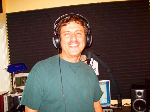 WWOZ show host Charles Laborde