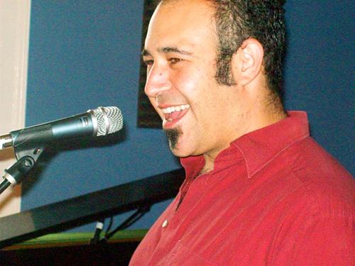WWOZ show host Marc Stone