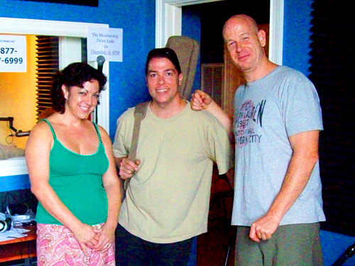 Ingrid Lucia, John Fohl and Geoff Clapp