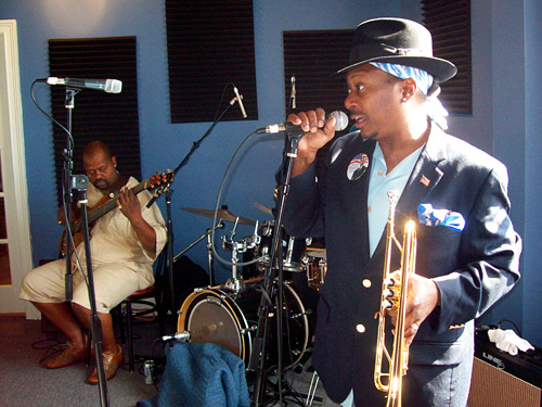 Kevin Morris and Kermit Ruffins